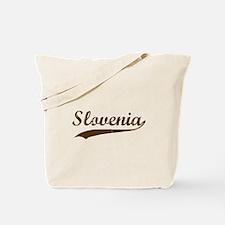 Vintage Slovenian Retro Tote Bag