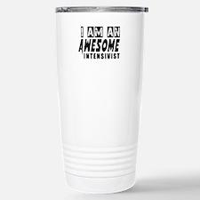 I Am Intensivist Stainless Steel Travel Mug