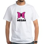 Butterfly - Megan White T-Shirt