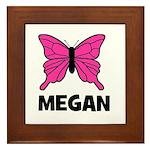 Butterfly - Megan Framed Tile