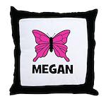 Butterfly - Megan Throw Pillow