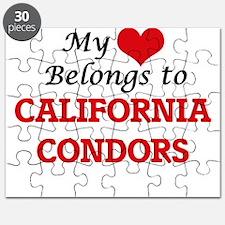 My heart belongs to California Condors Puzzle