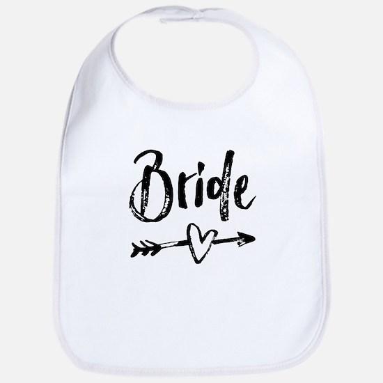 Bride Gifts Script Bib