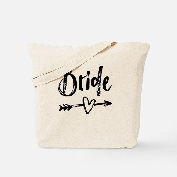 Bride Gifts Script Tote Bag