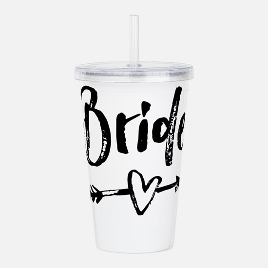 Bride Gifts Script Acrylic Double-wall Tumbler