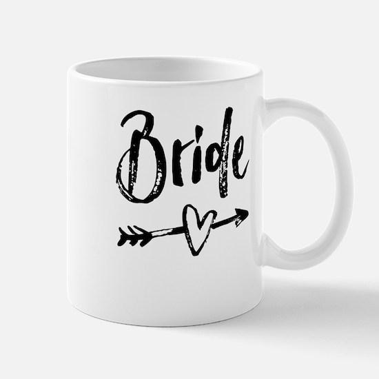 Bride Gifts Script Mugs