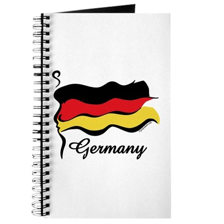Funky German Flag Journal
