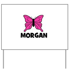 Butterfly - Morgan Yard Sign