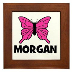 Butterfly - Morgan Framed Tile