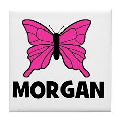 Butterfly - Morgan Tile Coaster