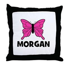 Butterfly - Morgan Throw Pillow