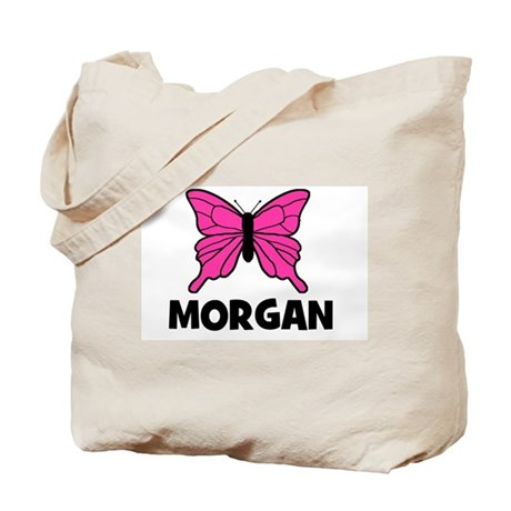 Butterfly - Morgan Tote Bag