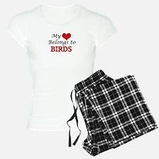 My heart belongs to Birds Pajamas