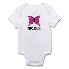 Butterfly - Nicole Infant Bodysuit