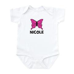 Butterfly - Nicole Infant Bodysuit