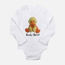 Ducky Did it! Body Suit
