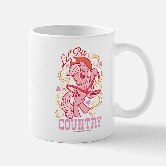 MLP Applejack Lil' Bit Country Mug