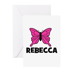 Butterfly - Rebecca Greeting Cards (Pk of 10)