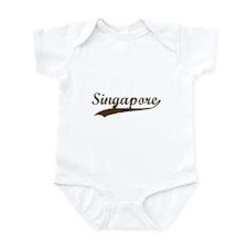 Vintage Singapore Retro Infant Bodysuit