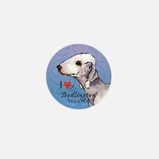 Bedlington Terrier Mini Button