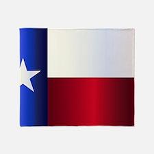 Funny Graphic texas flag Throw Blanket