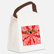 Cute Backdrop Canvas Lunch Bag