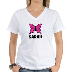 Butterfly - Sarah Women's V-Neck T-Shirt