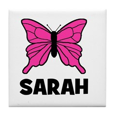 Butterfly - Sarah Tile Coaster