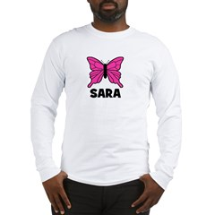 Butterfly - Sara Long Sleeve T-Shirt