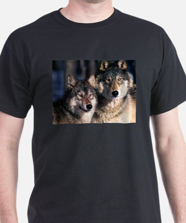 two wolf T-Shirt