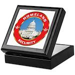 Masonic Homeland Security Keepsake Box