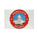 Masonic Homeland Security Rectangle Magnet (10 pac