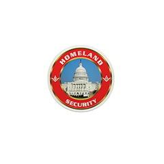 Masonic Homeland Security Mini Button (10 pack)