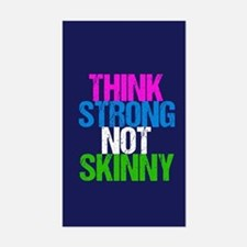 Strong Not Skinny Bumper Stickers