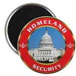 Masonic Homeland Security Magnet