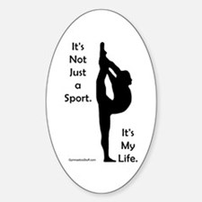 Gymnastics Sticker - Life