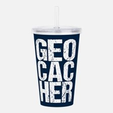 Geocacher Acrylic Double-wall Tumbler