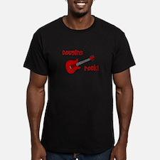 Cousins Rock! red guitar T-Shirt