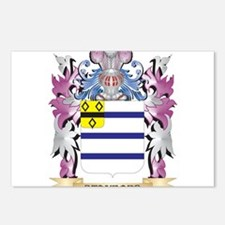 Stanford Coat of Arms - F Postcards (Package of 8)