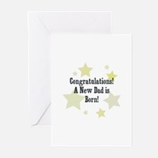 Congratulations! A New Dad is Greeting Cards (Pk o