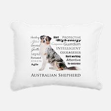 Aussie Traits Rectangular Canvas Pillow