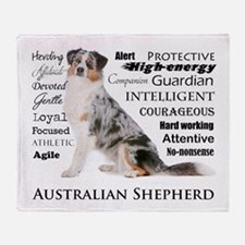 Aussie Traits Throw Blanket