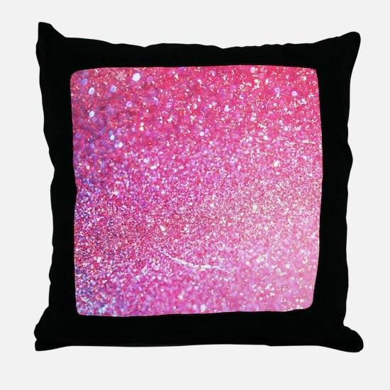 Glitter Luxury Diamond Throw Pillow