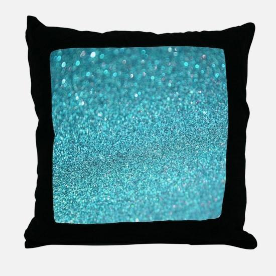 Glitter Sparkley Luxury Throw Pillow