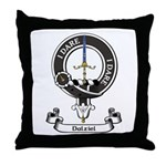 Badge - Dalziel Throw Pillow