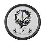 Badge - Dalziel Large Wall Clock