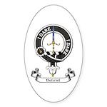 Badge - Dalziel Sticker (Oval 50 pk)