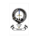 Badge - Dalziel Sticker (Rectangle 50 pk)