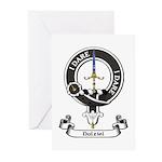 Badge - Dalziel Greeting Cards (Pk of 10)