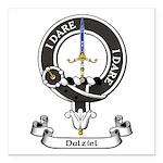 Badge - Dalziel Square Car Magnet 3
